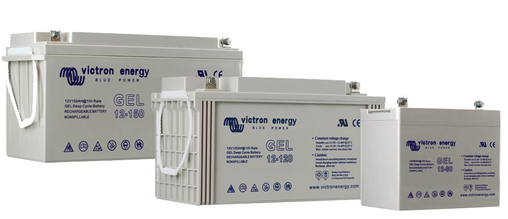 batteries solaires VICTRON GEL